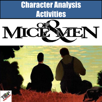 Of Mice and Men Character Analysis Activities