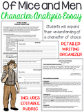 Of Mice and Men: Character Analysis, Five-Paragraph Essay