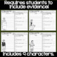 Of Mice and Men Character Analysis Graphic Organizers