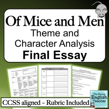 Of Mice and Men Theme and Character Analysis Final Essay