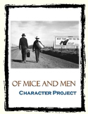 Of Mice and Men Character Diary Project