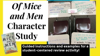 Of Mice and Men Character Study
