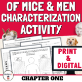 Of Mice and Men Chapter 1 - Of Mice and Men Character Anal