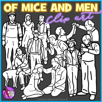 Of Mice and Men clip art