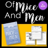 Of Mice and Men - Complete Unit!