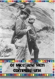 Of Mice and Men Complete Unit Pack