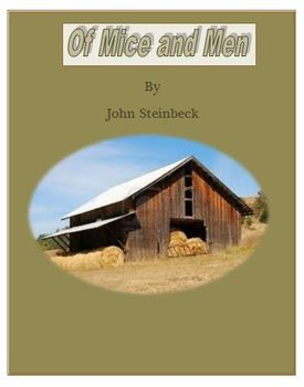 Of Mice and Men Complete Unit Plan