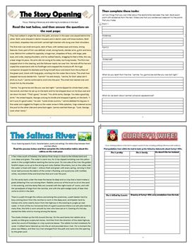 Of Mice and Men Comprehension Activities Booklet!