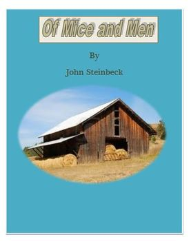 Of Mice and Men Daily Lesson Plans