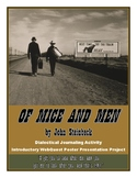 Of Mice and Men: Dialectical Journal, Introductory WebQues