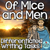 Of Mice and Men Writing Tasks for the Entire Novel