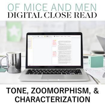 Digital Close Read: Of Mice and Men