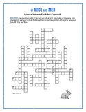 Of Mice and Men: Figurative Language Crossword—Fun!