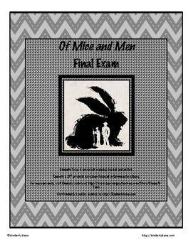 Of Mice and Men Final Exam Test