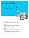 Of Mice and Men Final Exam with Answer Key