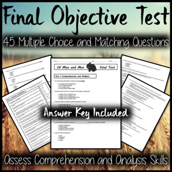 Of Mice and Men Final Objective Test