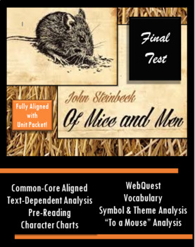 Of Mice and Men Final Test