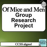 Of Mice and Men Group Research Project