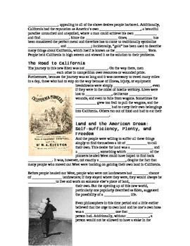 Of Mice and Men Historical Background Notes