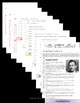 Of Mice and Men Interactive Flip book Study Guide
