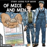 OF MICE AND MEN NOVEL STUDY LITERATURE GUIDE FLIP BOOK