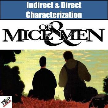 Of Mice and Men John Steinbeck Character Analysis Activities
