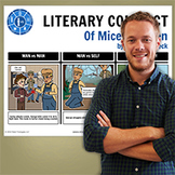 Of Mice and Men: Literary Conflict Poster