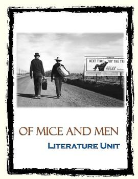 Of Mice and Men Literature Unit