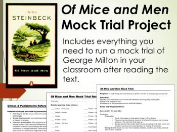 Of Mice and Men Mock Trial (PDF)