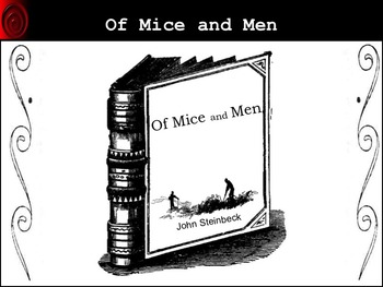 Of Mice and Men Novel Study Unit ~  CCSS Aligned