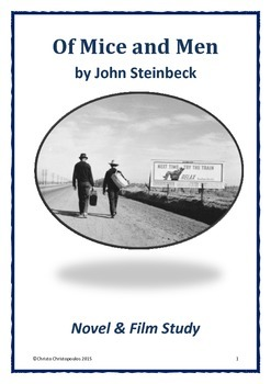 Of Mice and Men (Novel & Film Study)