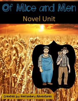 Of Mice and Men Novel Unit
