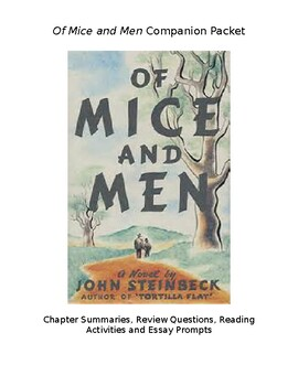 Of Mice and Men Packet