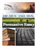 Of Mice and Men Persuasive Essay