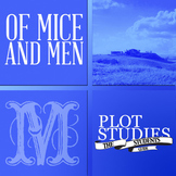 Of Mice and Men -  Plot Study (Graphic Organizer Collection)