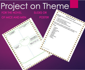 Of Mice and Men Project on Theme