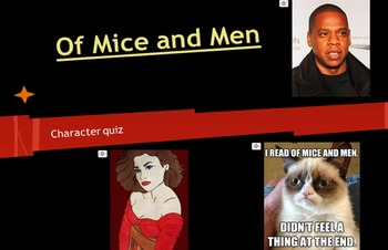 Of Mice and Men Video Quiz - Jay-Z