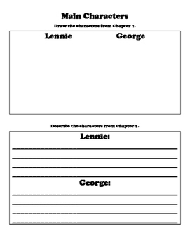 Of Mice and Men Reading Activity Packet
