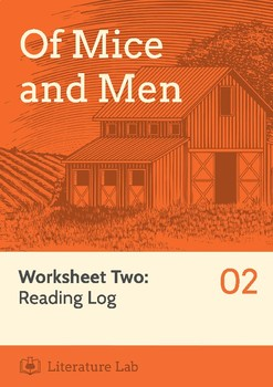 Of Mice and Men - Reading Log