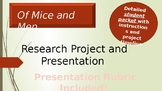 Of Mice and Men Research Project and Presentation