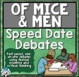 Of Mice and Men Review Speed Date Debates