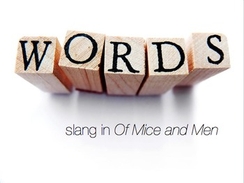 Of Mice and Men Slang Game