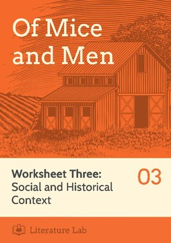 Of Mice and Men - Social & Historical Context