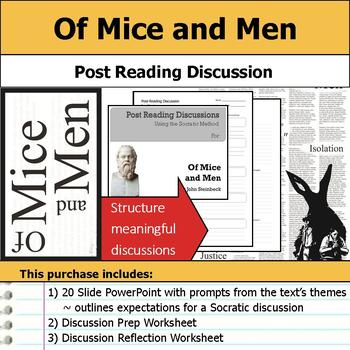 Of Mice and Men - Socratic Method - Post Reading Discussions