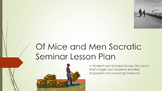 Of Mice and Men Socratic Seminar Lesson Plan