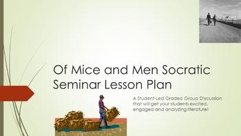 Of Mice and Men Socratic Seminar Lesson Plan