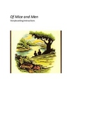 Of Mice and Men Storyboard Activity with Common Core Standards