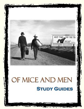 Of Mice and Men Study Guides
