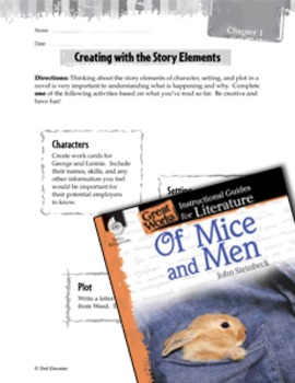 Of Mice and Men Studying the Story Elements