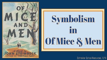 Of Mice and Men Symbolism PowerPoint Lesson